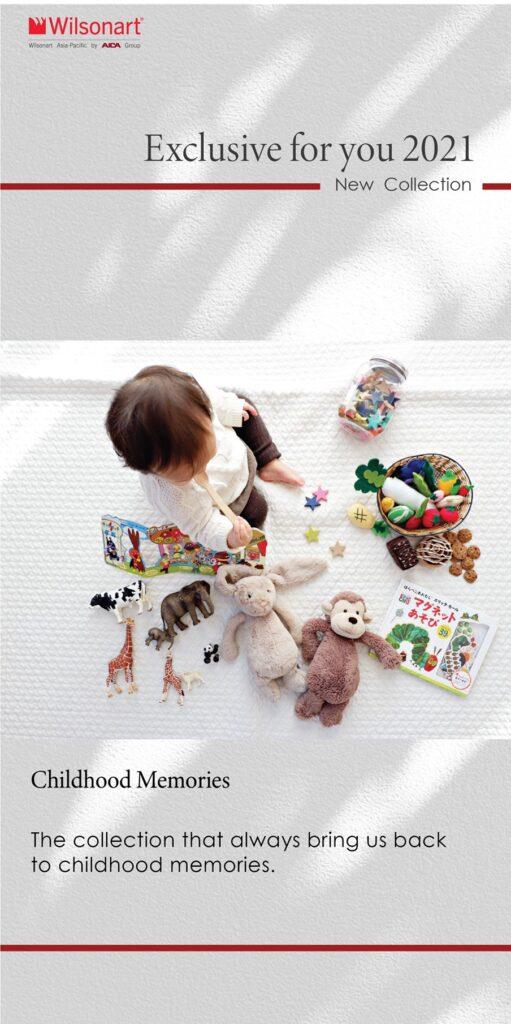 Childhood interior design collection